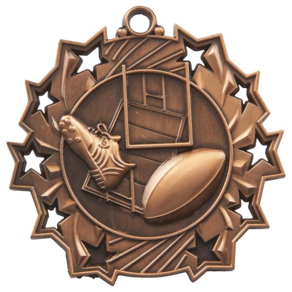 bronze rugby medal