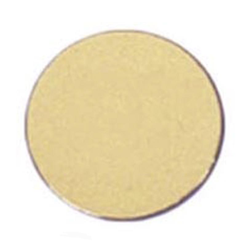 Circular Disc Gold Coloured Engraving Plate