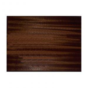 Dark Oak Veneered Rectangular Blank Plaque 25cms x 20.3cms