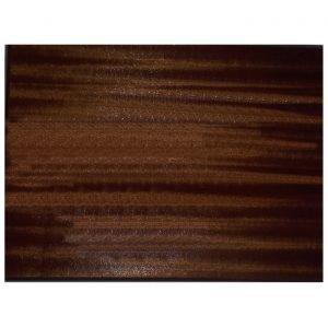 Dark Oak Veneered Rectangular Blank Plaque 31cms x 23.3cms