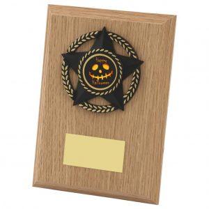 Halloween Spooky Plaque 15cms