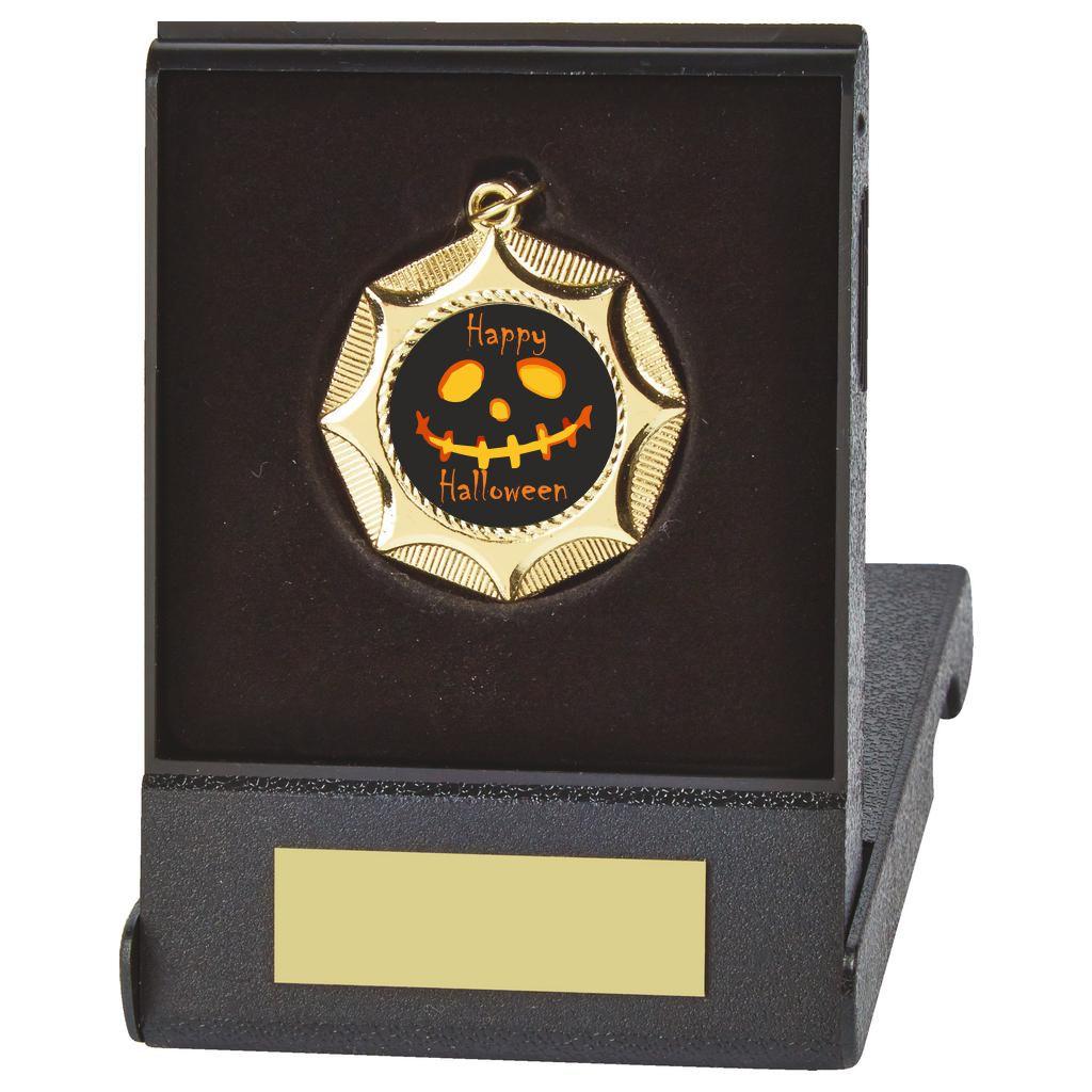 Halloween Flip Box Medal Trophy