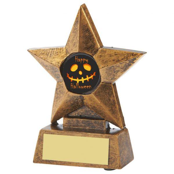 Spooky Halloween Star Trophy