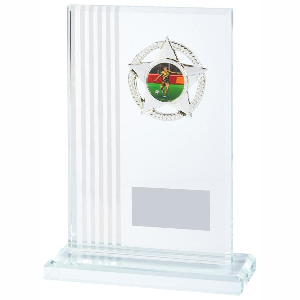 Football Glass Trophies