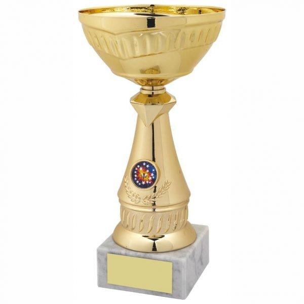 Quality Gilt Coloured Paintball Cup