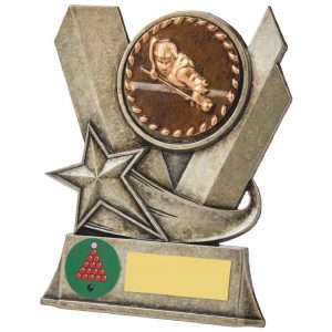 Snooker Metal Alloy Trophy 13cms