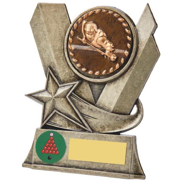 Snooker Metal Alloy Trophy 13cms