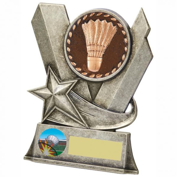Buy now. Quality Badminton Trophy 11cms. Ideal for most achievements within badminton. Great for doubles winners and runners up. Also ideal for end of year presentations