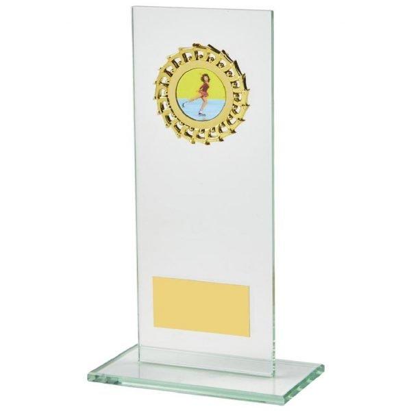 Economy Jade Glass Trophy