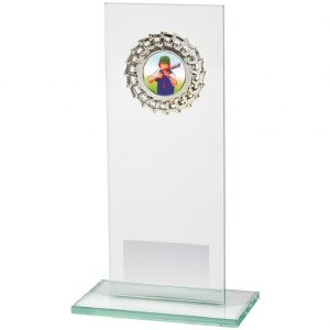 Economy Glass Trophy Jade