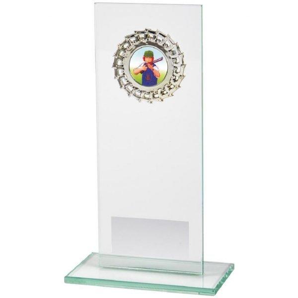 Economy Glass Trophy Jade