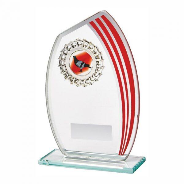 Glass MultiSports Trophy 15cms