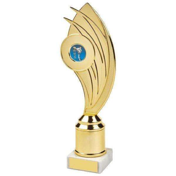 Budget Holder Gilt Trophy 24cms.