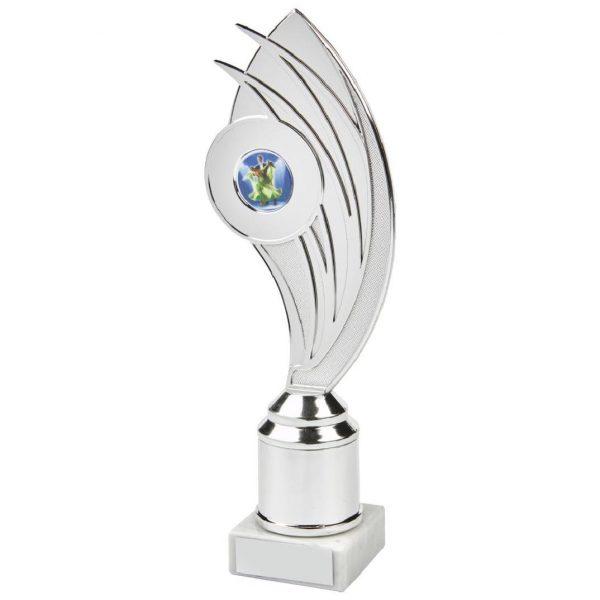 Budget Holder Chrome Trophy 24cms