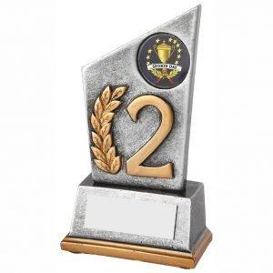2nd Position Achievement Trophy