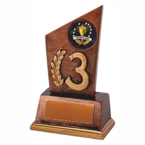 3rd Position Achievement Trophy