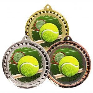 Tennis Glass Disc Medal