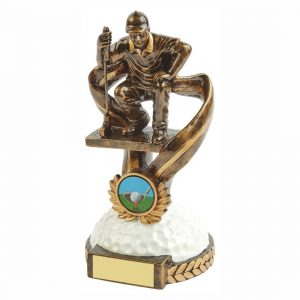 Quality Golfer Trophy 18cms