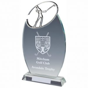 Golf Crystal Trophies and Awards