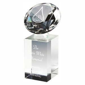 Glass Innovation Trophy 16cms