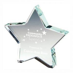 Rising Star Trophy 10cms