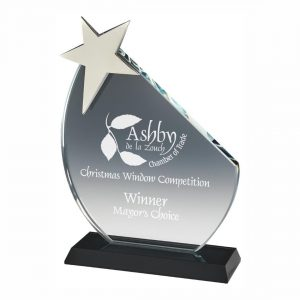 Star Recognition Trophy 18cms