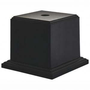 Heavy Square Black Display Base