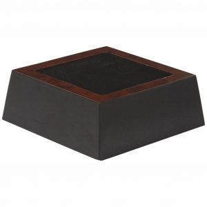 Square Shaped Base with Square Recess