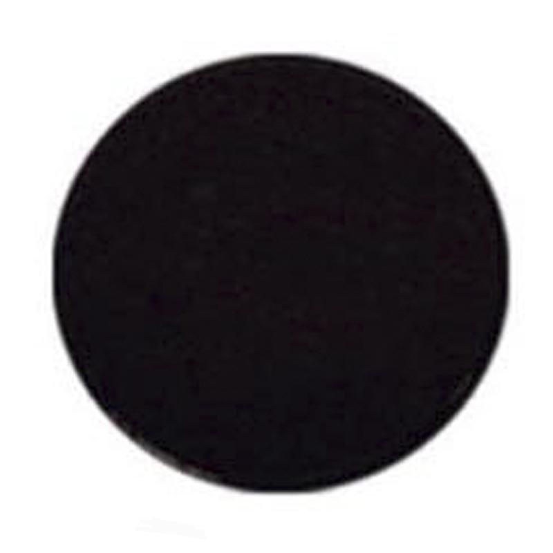 Circular Disc Black Coloured Engraving Plate