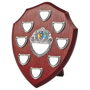 Clearance Line Annual Presentation Shield 25cms