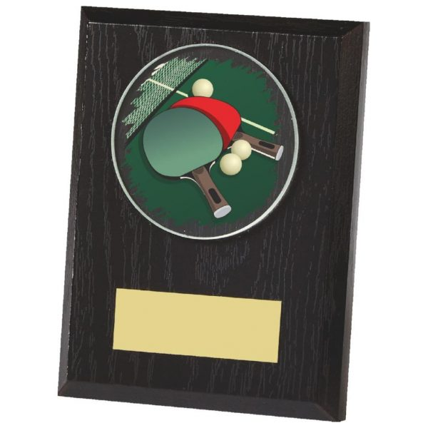 Low Priced Table Tennis Plaque