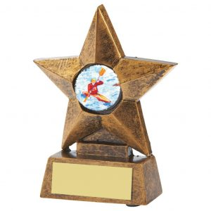 Canoe Super Star Trophy 10cms.