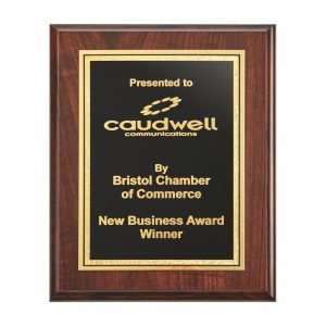 Presentation Wall Plaque 23cms