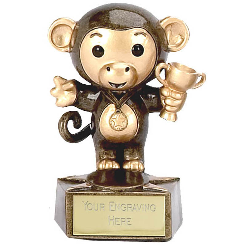 Cheeky Monkey Trophy