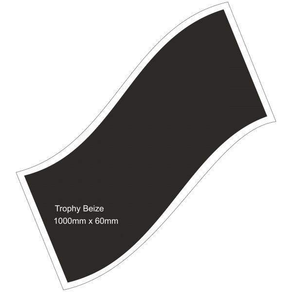 Trophy Beize Self-Adhesive Backed 1000mm x 600mm