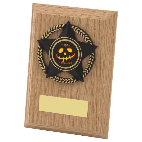 Halloween Spooky Plaque 13cms