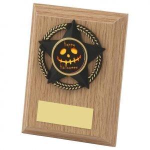Halloween Spooky Plaque 10cms