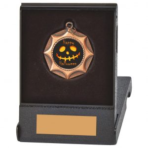 Scary Flip Box Medal Trophy