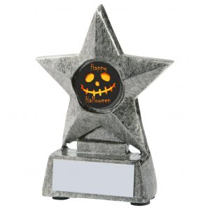 Scary Halloween Star Trophy