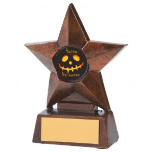 Ghoulish Halloween Star Trophy