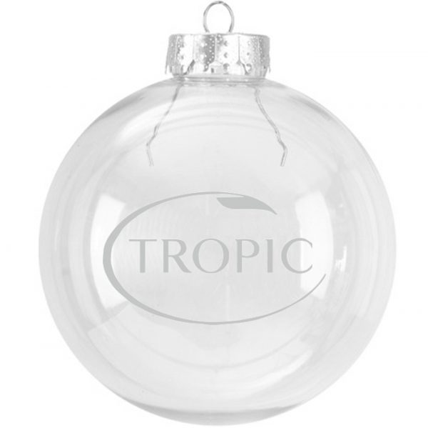 Tropic Christmas Glass Bauble