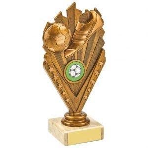 Budget Football Trophy 17.5cms