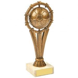 Budget Football Trophy 18.5cms