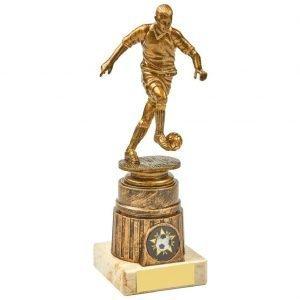 Footballer Trophy 20cms