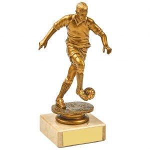 Footballer Trophy 14cms