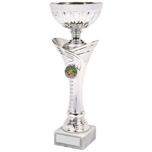 Sporting Cup Chrome Coloured