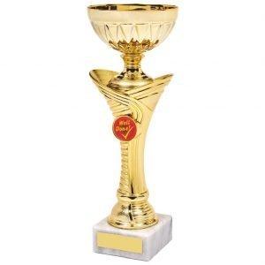 Achievement Cup Gilt Coloured
