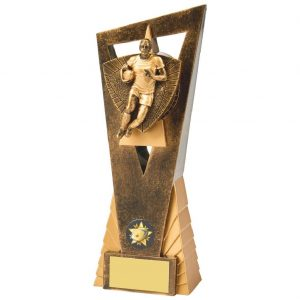 Rugby Player Scene Trophy 23cms