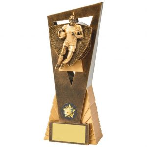 Rugby Player Scene Trophy 21cms