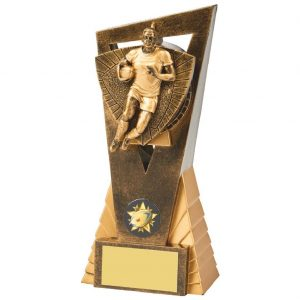 Rugby Player Scene Trophy 18cms